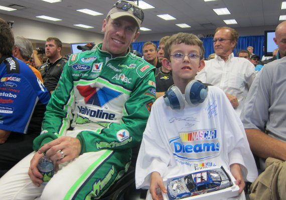 Hunter's NASCAR dream